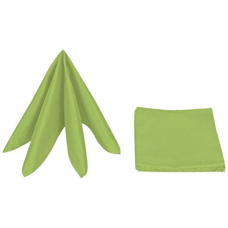 servietten damast punkte 40x40 lind gr n 6er pack ebay. Black Bedroom Furniture Sets. Home Design Ideas